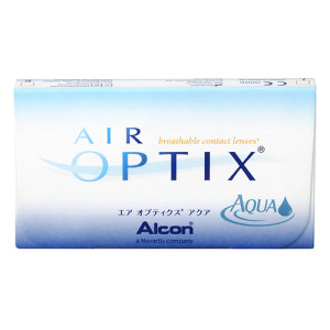 Air Optix Aqua lentillas