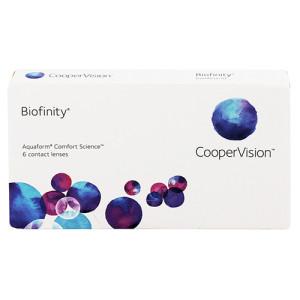 Biofinity lentillas