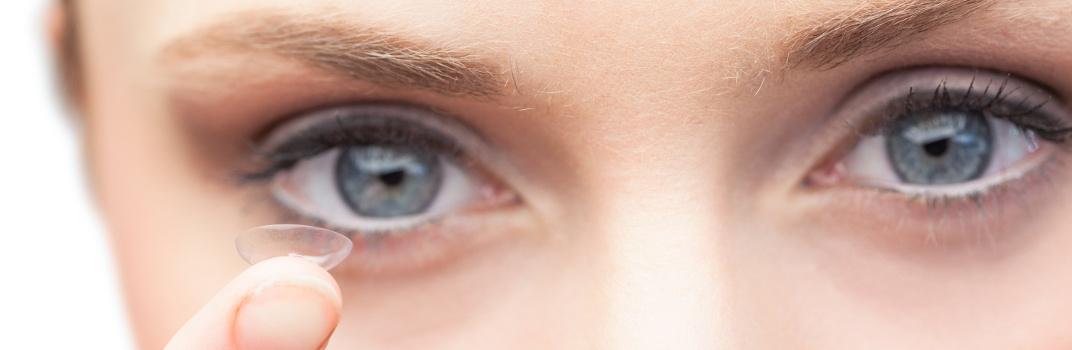 Historia de las lentes de contacto