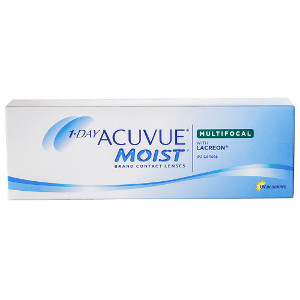 Acuvue 1-Day Moist Multifocal lentillas